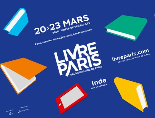 I have been invited to Paris Book Fair 2020